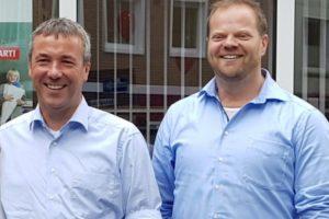 Johann Saathoff, MdB und Matthias Arends, MdL
